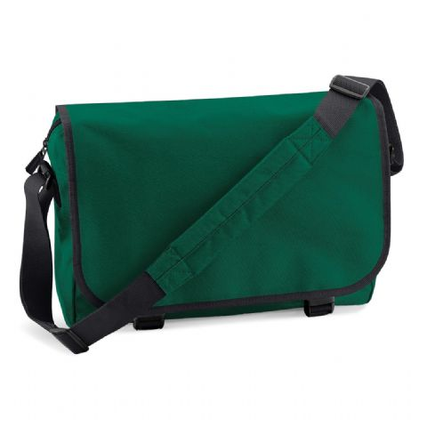 CHOOSE DESIGN - BOTTLE GREEN MESSENGER BAG